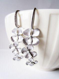 Earrings from littlebearsmom on etsy. Love!