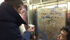 Total strangers, brought together by circumstances on New York City subway car, teach all Americans a lesson in unity. Much needed in these times.