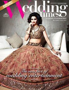 @1Prachidesai in @sabya_mukherjee http://www.sabyasachi.com/ Bridal #Lehenga 4 @WeddingTimesTOI