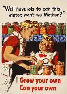 Victory Garden Propaganda Posters | Pickles & Peas
