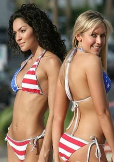 Get ready celebrate in one of our Memorial Day Bikinis. Show off your true patriotism in a USA flag bikini. It's time to rejoice be - Proud to be American Flag Bikini, Red Bikini, Bikini Swimwear, Bikinis, Swimsuit, American Pride, American Women, American Girl, Patriotic Swimwear