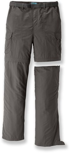 REI Sahara Convertible Pants with No-Sit Zips