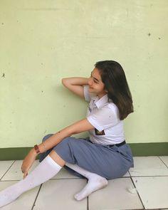 Sexy Socks, Cute Socks, Hijab Teen, Indonesian Girls, Crazy Socks, Girls Socks, Beauty Full Girl, Sensual, Cute Girls
