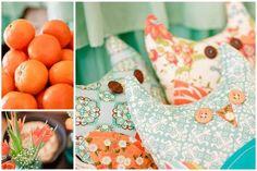 Aqua & Orange... ahh!