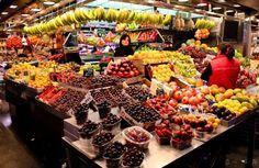 Рынок Бокерия (La Boqueria)