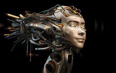 Asian robotic girl by Ociacia on deviantART robots robot head