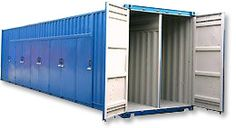 Dainton Portable Buildings are shipping container conversions specialists. We have experience of many conversion projects from previous customers' specifications.    Common modifications include  windows, heating, air conditioning, insulation, personnel doors, plumbing and electrics.    http://www.dainton.com/shipping-container-conversions.html