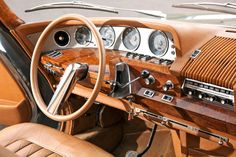 Illustration for article titled Citroen DS 21 Presidentielle interior Psa Peugeot Citroen, Citroen Car, Automobile, Vw Touran, Cabriolet, Dashboards, Amazing Cars, Old Cars, Concept Cars
