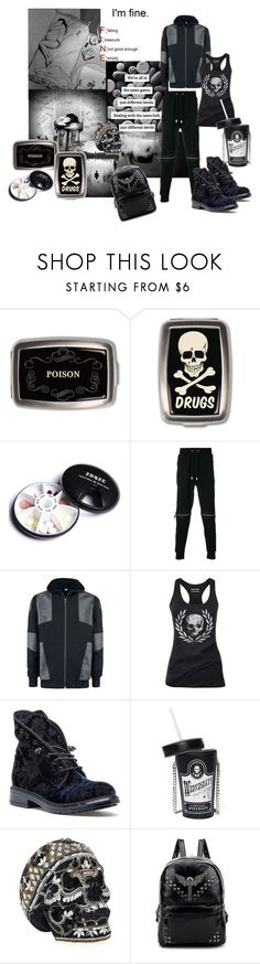 """Depression"" by katymaybepsycho ❤ liked on Polyvore featuring Blood Brother, Aesop, 275 Central, Current Mood and Judith Leiber"