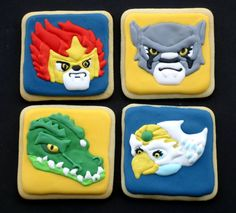 Chima Lego Characters | Cookie Connection