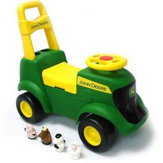 John Deere - Sit 'N Scoot Activity Tractor Ride-On