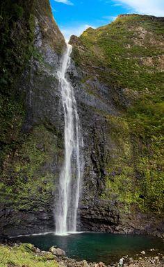Hanakapiai Falls - Kauai, Hawaii We hiked up to these gorgeous falls on our honeymoon