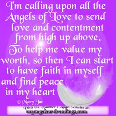 Attracting Love with the Angels - Soulmate Prayer - Soulmate Blessing - Love Affirmations - Prayer for Love & Contentment
