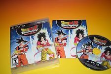 Dragon Ball Z Budokai HD Collection PS3 DBZ game