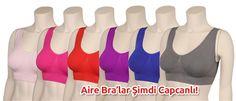 Sweat Ürünleri: Aire Bra Toparlayıcı, Minimizer, Dikleştirici, Dikişsiz Spor Sütyeni http://www.airebra.org/