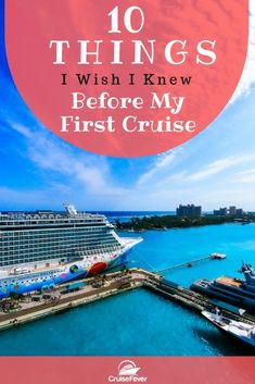 Need some cruise tips for your first cruise?  Here are 10 things everyone should know before sailing the high seas on their cruise ship vacation.  Let us know about your first cruise experience.  #cruisefever #cruiseship #cruisetips #cruiseadvice #vacation #traveltips via @cruisefever