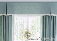 Kick Pleat Valance from the Heirloom Fabric Collection
