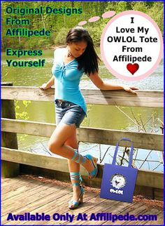 Affilipede Is Putting Original Designs On Cotton Canvas Totes ~ The OWLOL Tote ~