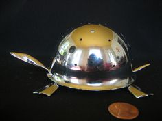 Stories have great psychological influence, but this experiment was based in anthropology. Significant Objects auctioned off thrift-store objects on eBay using short stories for descriptions. The objects, purchased for 1.25 apiece on average, sold for nearly 8,000.00 in total. Read the story of this Chrome Turtle.