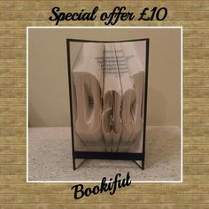 Dad book fold- special offer for 2015 £10 (limited number available)