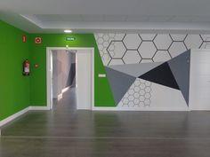 proyecto pictórico para Auzo Factory Rekalde. Ayuntamiento de Bilbao Bilbao, Spaces, Renovation, Town Hall, Projects