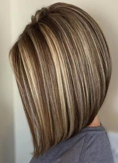 Multi-Toned Brown Bob with Lowlights