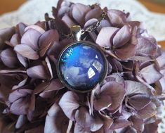 Purple Nebula Pendant Purple Pink Galaxie Pendant by WalkTheMelon Purple Jewelry, Organza Gift Bags, Blue Glitter, Xmas Gifts, Things To Think About, How To Find Out, Cool Photos, Gifts For Her, Gemstone Rings