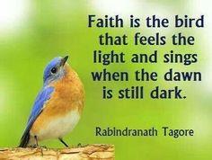 True faith. ......