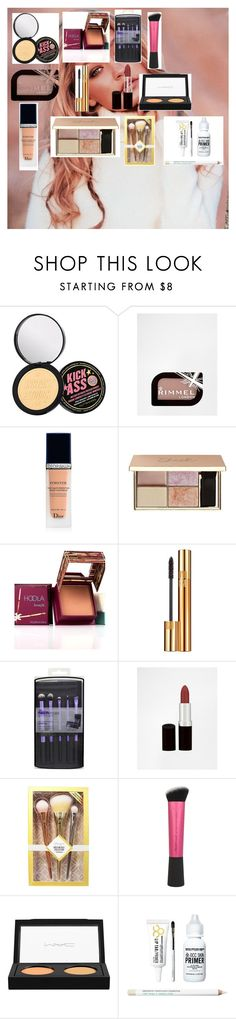 """""""Gigi Hadid - Pretty and Natural 90s Makeup"""" by zoellaispretty on Polyvore featuring beauty, Soap & Glory, Rimmel, Christian Dior, Hoola, Yves Saint Laurent, MAC Cosmetics and Obsessive Compulsive Cosmetics"""