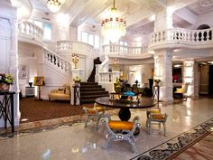 Beautifully baroque St. Ermin Hotel Lobby   - Explore the World with Travel Nerd Nici, one Country at a Time. http://TravelNerdNici.com
