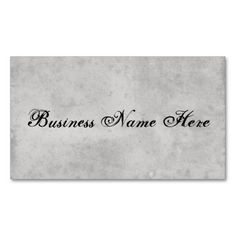 Blank Vintage Aged Paper Business Card Template I Love This