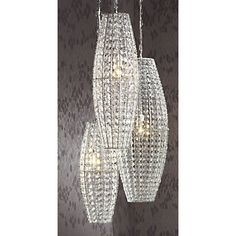 Faux Crystal Lamps from Midnight Velvet®