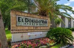 El Dorado View Apartments Sign