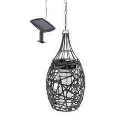 Hampton Bay - Solar LED Gazebo Chandelier - NXT-6102-C - Home ...:19