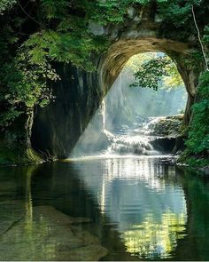 Spiritual Inspiration God's beauty of light and water.