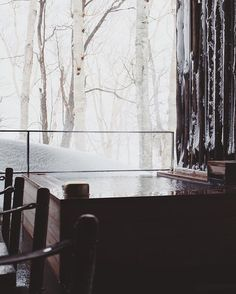 There may not be a tub in the world with a better view, or surrounded by more powder, than the Zaborin Ryokan in Kutchan, Hokkaido. (@hashtagyang) Zaborin 坐忘林 Ryokan • Instagram写真と動画 | zaborin.com  #GPxJP #hokkaido #tubwithaview