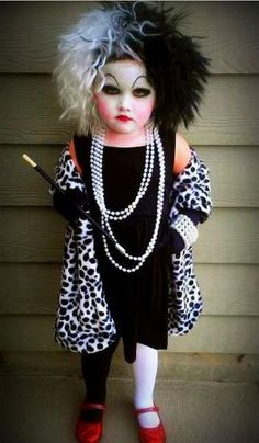 Cruella Deville - 101 Dalmations | 24 Kids Who Are Going to be Getting a Ton of Candy This Halloween | Pleated-Jeans.com