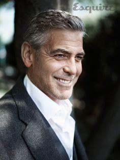 George Clooney in Esquire Dec. 2013