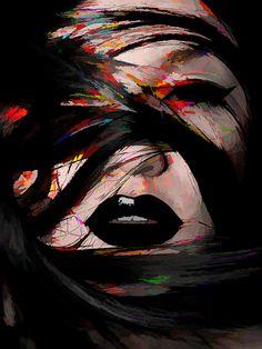 like painting by Hung Ng, via Behance