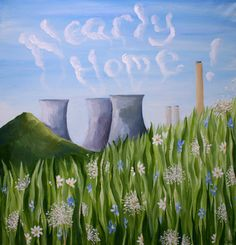 Nearly Home Giclee print of Didcot Power by CharlieDaviesDesigns, £18.00