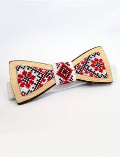 Unique handmade wooden bowtie