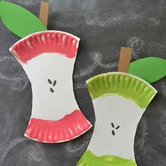 This easy kids craft project is perfect to celebrate the first day of school or as a fall decoration.
