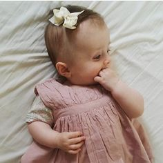 Another beautiful girl with LittlePetit hair bow
