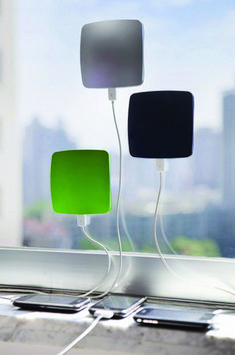 solar powered phone charger - cool!