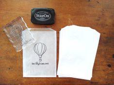 """Large Glassine Bag, Bakery Bag, Cookie Bag, Set of 20 (5 3/4"""" x 7 5/8"""")"""