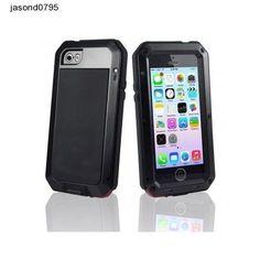 Iphone 5 5s Protection Cover Case Waterproof Metal Brake Shock Proof Dust Proof