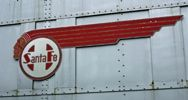 AT&SF warbonnet logo