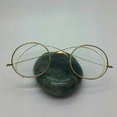 b8c2c411e9 Antique 14k Yellow Gold Round Rim Eyeglasses Antique 14k solid yellow gold  eyeglasses. Excellent condition. Not scrap. Vintage Jewelry