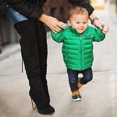 Baby puffer coat