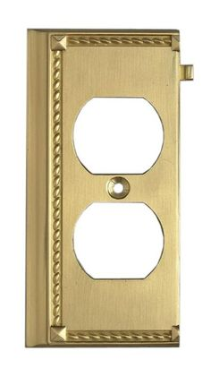 ELK Lighting Clickplates Brass End Switch Plate - 2506BR